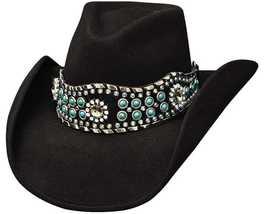 Bullhide By Monte Carlo 0627 Rhythm Of The Night Fashion Wool Felt Cowgirl - $76.00