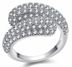 Sterling Silver Rings With Clear CZ - $16.99