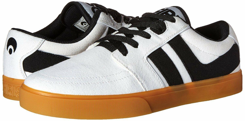 Osiris Mens White/Gum Canvas Lumin Lightweight Skateboarding Shoes Sneakers NIB