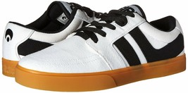 Osiris Mens White/Gum Canvas Lumin Lightweight Skateboarding Shoes Sneakers NIB image 1