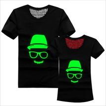 Teenagers cotton short sleeve T-shirt boy noctilucent superman avengers ... - $16.86