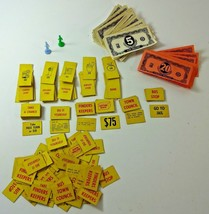 VTG 1960 Milton Bradley VIDEO VILLAGE Board Game Replacement PARTS / PIE... - $14.14
