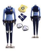 Zootopia Judy Hopps Cosplay Costume Policewoman Uniform Full Set - $63.90