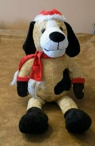"Animated Plush Dog Can't Wait Till Christmas Time 2009 Kids Of America 12"" - $29.70"
