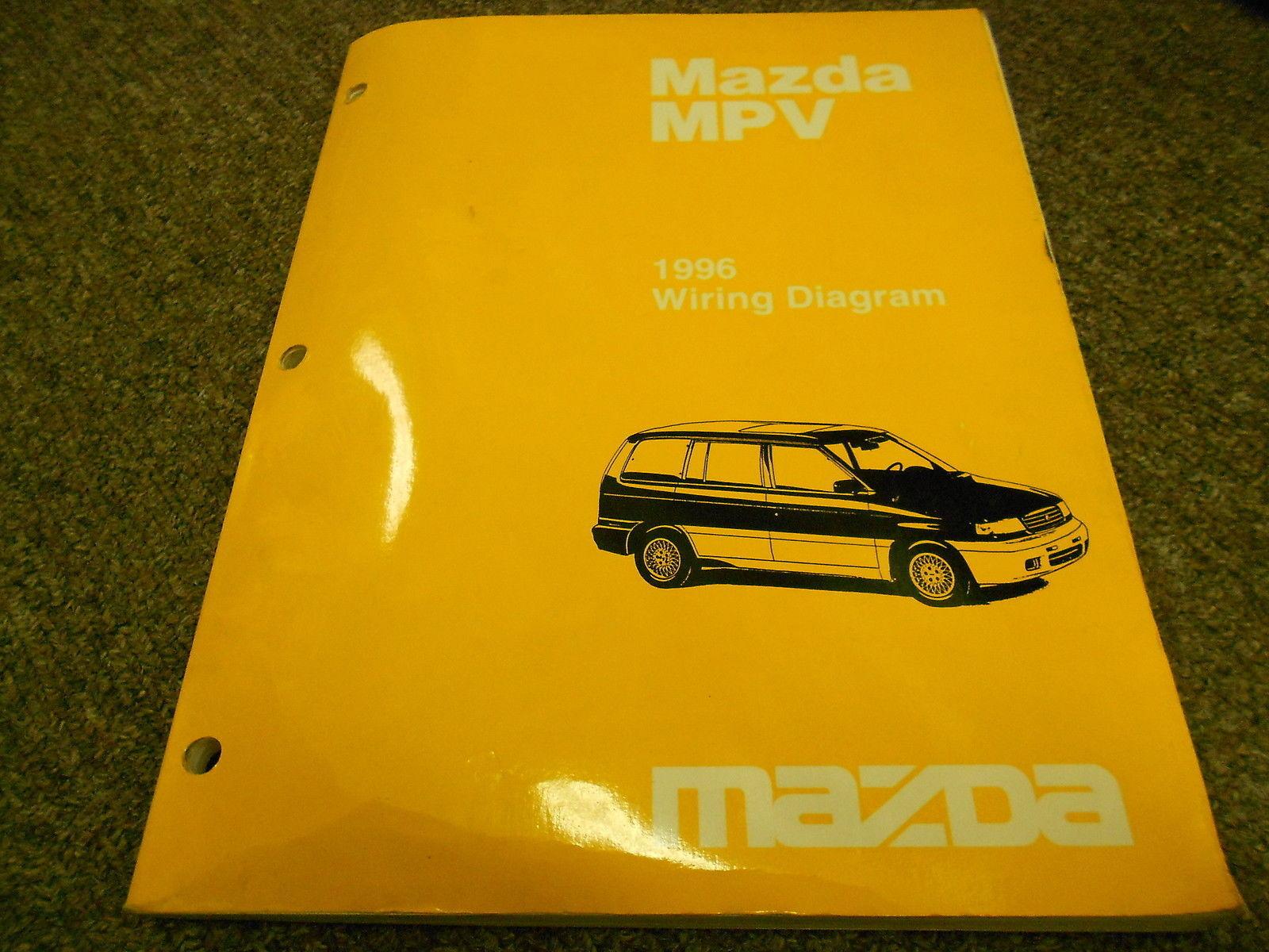 1996 Mazda Mpv Van Electrical Wiring Service And 50 Similar Items