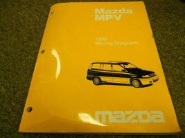 1996 Mazda MPV Van Electrical Wiring Service Repair Shop Manual OEM BOOK 96 - $13.33