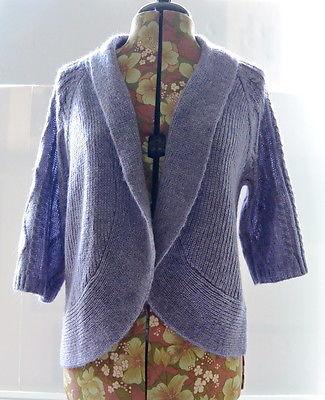 Chico s Cardigan Sweater 0 S Violet Cora and 50 similar items 4f09edb9c