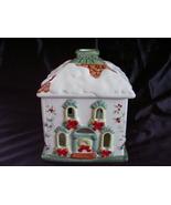 Pfaltzgraff Winterberry Holiday House Votive Ca... - $32.00