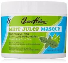 Queen Helene Face Mask for Acne Blackheads Pore Tighten Mint Julep Masqu... - $11.24