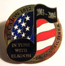 El Cajon Elks Lodge Lapel Pin - 2003 California USA Club Member Elkdom B... - $19.79