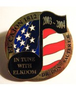 El Cajon Elks Lodge Lapel Pin - 2003 California USA Club Member Elkdom B... - $19.79