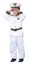 Deluxe Navy Admiral Costume Set - Medium 8-10 - $44.41 CAD