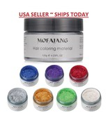 Unisex DIY Hair Color Wax Mud Dye Cream Temporary Modeling 7 Colors Mofa... - $5.82+