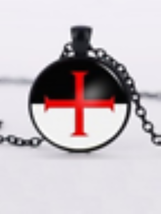 Knights Templar Necklace  - $10.99