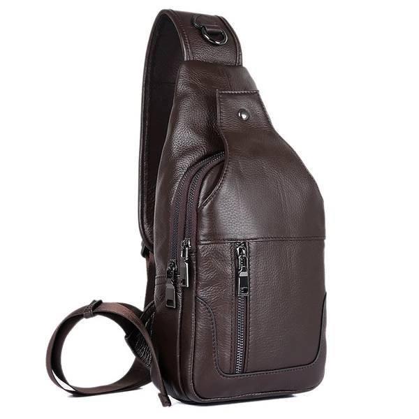 Sale, Messenger Bag, Men's Leather Messenger Bag, Men's Cross Leather Bag, Verti image 6