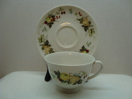 Royal Doulton China white porcelain tea cup & saucer Miramont pattern ci... - $25.00