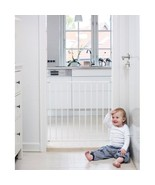 Baby Safety Gate Infant Stair Kitchen Protection No Screw Mounted Door W... - $42.98