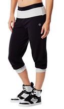 Women's Zumba Fitness Maxin N Relaxin Capris Pants Z1B00253 - $12.26+