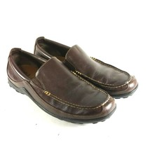 COLE HAAN Men's Loafers Sz 10.5 M Brown Leather Slip On Moc Toe Driving ... - $44.27