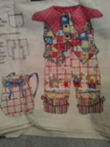 Daisy Kingdom O'Happy Day Doll Outfit Panel - $15.00