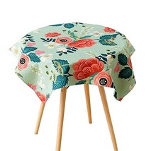 East Majik Unique Cotton and Linen Dining Tablecloth Tea Table Dust Proof Cloth  - $31.05