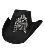 Bullhide By Monte Carlo 0636 Loyal To None Fashion Wool Felt Cowboy Cowgirl - $57.00