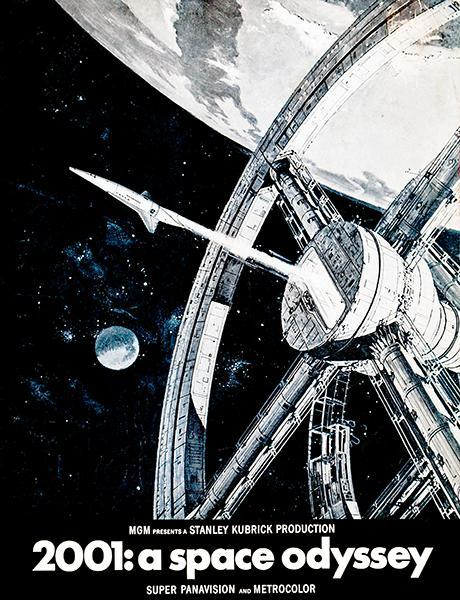 Primary image for 2001: A Space Odyssey #2 - 1968 - Movie Poster