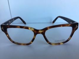 New Tom Ford TF 5288 TF5288 056 49mm Rx Tortoise Eyeglasses Frame Italy - $179.99