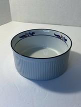 "DANSK BISTRO - MARIBO - PORCELAIN SOUFFLE BAKING DISH - 8 1/4"" - JAPAN - $29.69"