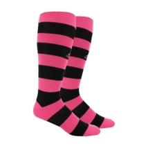 ADIDAS Men's Soccer Metro Hoop OTC Soccer Athletic Pink Socks Size M (5-... - $9.89