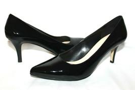 ❤️COLE HAAN Valeria Black Patent Leather Padded Pumps 8.5 M EXCELLENT! L... - $46.54