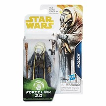 "Star Wars Force Link 2.0 Moloch 3.75"" Action Figure - New Mint in Box - $10.40"