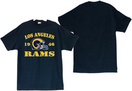 Los Angeles Rams 1946 Men's Navy Blue T-Shirt Sizes (S thru 4XL) - $20.78+