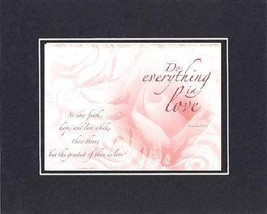 For Romance - Do Everything in Love . . . 11 x 140 Inches Biblical/Relig... - $15.79