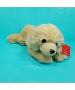"Aurora World Floppy Goldie Yellow Lab Dog Plush Stuffed Animal 12"" Reali... - $21.77"