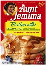 Aunt Jemima Complete Pancake Mix Buttermilk, 32-ounce Boxes Pack of 3