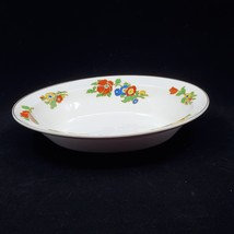"""Vintage Johnson Bros Pareek Oval Serving Bowl Dish. 10x7.5"""". Made in Eng... - $22.00"""