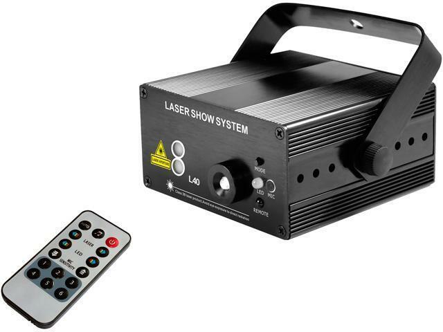 Blackmore Electronics BDL-3040 Blackmore Disco And Laser Lights, Black
