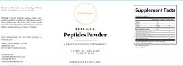 COLLAGEN PEPTIDES POWDER - A protein infused supplement powder - 8 OZ (234G) image 2