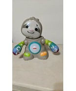 Fisher Price Smooth Moves Sloth Dancing Lights and Sounds Educational To... - $9.89
