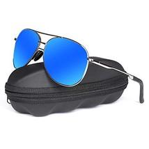 Polarized Aviator Sunglasses for Men - goudi Metal Frame driving UV 400 ... - $13.41
