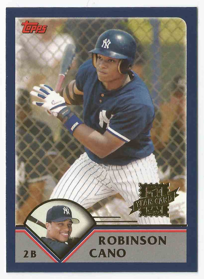 2016 Topps # BB-52  Robinson Cano - 1St Year Card - Bergers Best - New York Yank