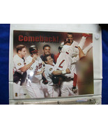 THE COMEBACK ! Cleveland Indians Unsigned 8 x 10 Photo - $2.61