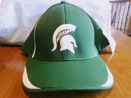 Michigan State Spartans Pacific LG-XL Team Classic Stretch Flex Cap Hat NCAA - $9.90
