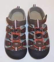 Keen Newport H2 Dark Earth Spicy Orange Boys 5 Youth Hiking Sporty Sand... - $39.59