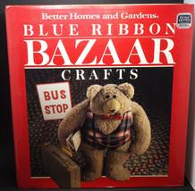 Better Homes and Gardens Blue Ribbon Bazaar Crafts Book 1987  - $2.99