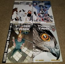 4 Image TopCow Comic Think Tank 1 2 NM+ signed Hawkins Cover A B Variant... - $0.99