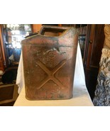 Vintage 1951 US Army Korean War Gas or Water Jerry Can by Radio Steel 20... - $198.00