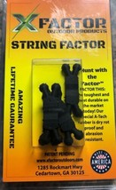 NEW X-Factor  String & Cable Silencers 4 Pack Black  - $4.48
