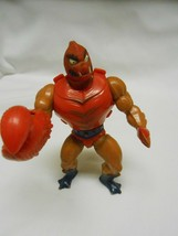 Vintage MOTU Clawful He-Man w/ body Armor Action figure 1981 Master of t... - $35.63